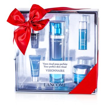 Lancome Visionnaire (Your Perfect Skin Ritual) Set: Skin Corrector 50ml & 15ml + Multi-Correcting Cream 15ml + Concentrate 7ml + Eye Corrector 5ml  5pcs