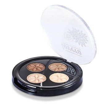 Lavera Beautiful Mineral Eyeshadow Quattro - # 02 Cappuccino Cream  4x0.8g/0.026oz