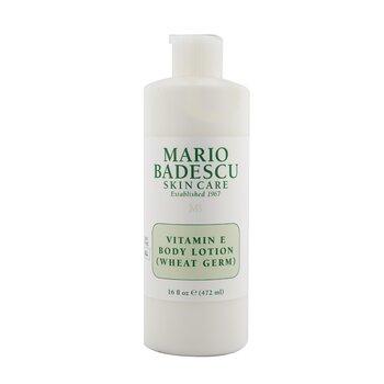 Mario Badescu Vitamin E Body Lotion (Wheat Germ) - For All Skin Types  472ml/16oz