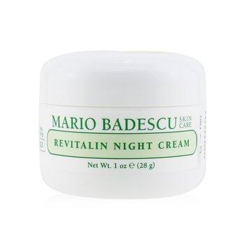 Mario Badescu Revitalin Night Cream - For Dry/ Sensitive Skin Types  29ml/1oz