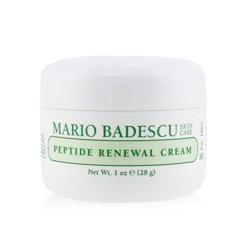 Mario Badescu Peptide Renewal Cream - For Combination/ Dry/ Sensitive Skin Types  29ml/1oz