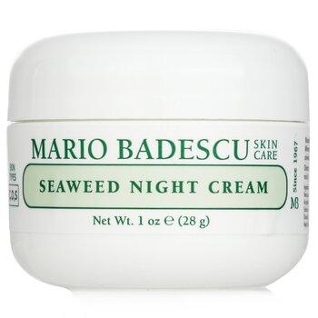 Mario Badescu Seaweed Night Cream - For Combination/ Oily/ Sensitive Skin Types  29ml/1oz