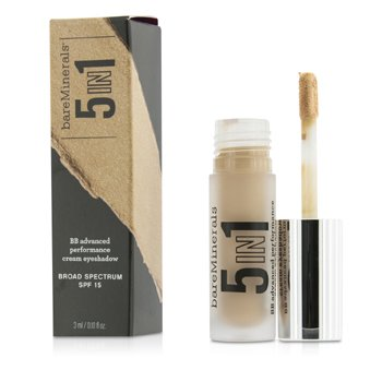 BareMinerals BareMinerals 5 In 1 BB Advanced Performance Cream Eyeshadow Primer SPF 15 - Candlelit Peach  3ml/0.1oz