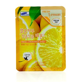 3W Clinic Mask Sheet - Fresh Lemon  10pcs