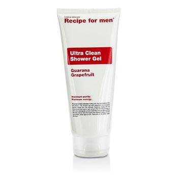 Recipe For Men Ultra Clean Shower Gel  200ml/6.7oz