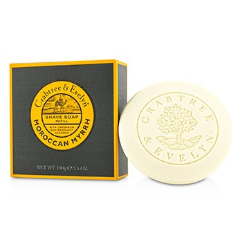 Crabtree & Evelyn Moroccan Myrrh Shave Soap Refill  100g/3.5oz