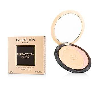 Guerlain Terracotta Joli Teint Natural Healthy Glow Powder Duo - # 00 Clair/Light Blondes  10g/0.35oz