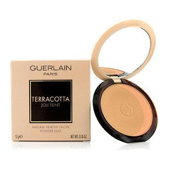 Guerlain Terracotta Joli Teint Natural Healthy Glow Powder Duo - # 01 Clair/Light Brunettes  10g/0.35oz