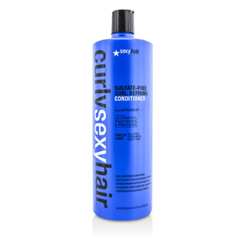 Sexy Hair Concepts Curly Sexy Hair Sulfate-Free Curl Defining Conditioner (Curl Nourishing)  1000ml/33.8oz