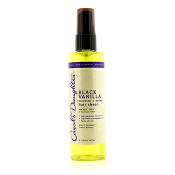 Carol's Daughter Black Vanilla Moisture & Shin Hair Sheen (For Dry, Dull & Brittle Hair)  127ml/4.3oz