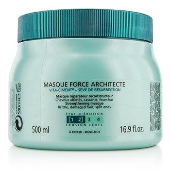 Kerastase Resistance Force Architecte Reconstructing Masque (For Brittle, Very Damaged Hair, Split Ends)  500ml/16.9oz