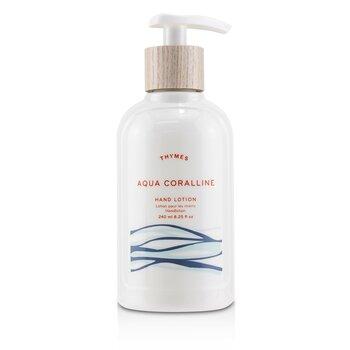 Thymes Aqua Coralline Hand Lotion  240ml/8.25oz