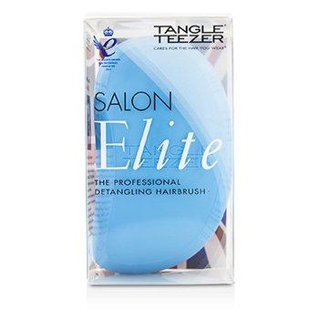 Tangle Teezer Salon Elite Professional Detangling Hair Brush - Blue Blush (For Wet & Dry Hair)  1pc