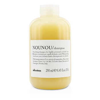 Davines Nounou Nourishing Shampoo (For Highly Processed or Brittle Hair)  250ml/8.45oz