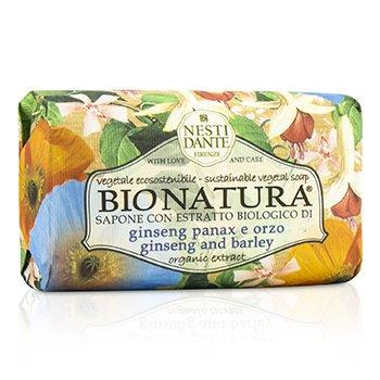Nesti Dante Bio Natura Sustainable Vegetal Soap - Ginseng & Barley  250g/8.8oz