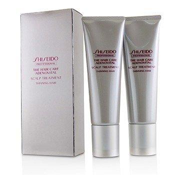 Shiseido The Hair Care Adenovital Scalp Treatment (For Thinning Hair)  2x130g/4.4oz