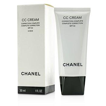 Chanel CC Cream Complete Correction SPF 50/PA++++ # 30 Beige  30ml/1oz