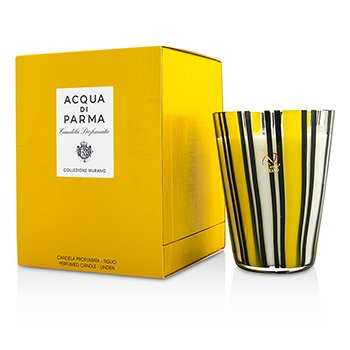 Acqua Di Parma Murano Glass Perfumed Candle - Tiglio (Linen)  200g/7.05oz