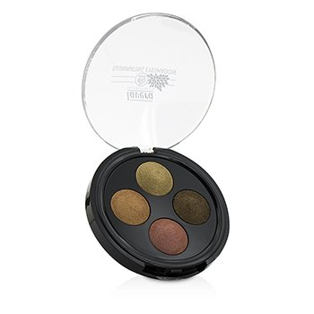 Lavera Illuminating Eyeshadow Quattro - # 03 Indian Dream  -