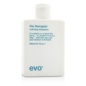 Evo The Therapist Calming Shampoo (For Dry, Frizzy, Colour-Treated Hair)  300ml/10.1oz