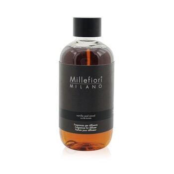 Millefiori Natural Fragrance Diffuser Refill - Vanilla & Wood  250ml/8.45oz