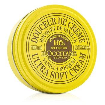 L'Occitane Shea Butter Ultra Soft Cream - Vanilla Bouquet  100ml/3.5oz