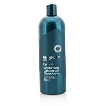 Label.M Organic Moisturising Lemongrass Shampoo (Calming Daily Hair Cleanser For All Hair Types)  1000ml/33.8oz