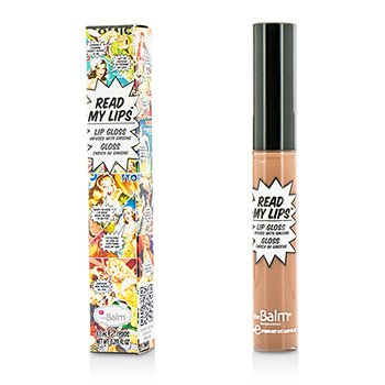 TheBalm Read My Lips (Lip Gloss Infused With Ginseng) - #Snap!  6.5ml/0.219oz