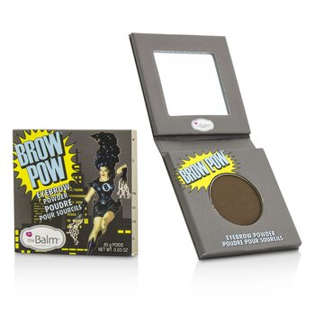 TheBalm BrowPow Eyebrow Powder - #Dark Brown  0.85g/0.03oz