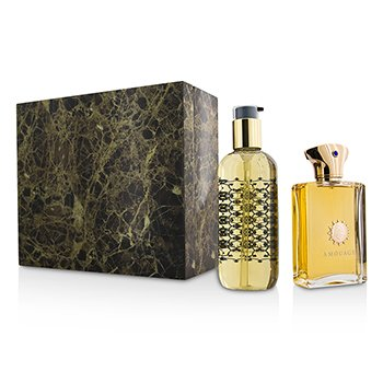 Amouage Dia Coffret: Eau De Parfum Spray 100ml/3.4oz + Bath & Shower Gel 300ml/10oz  2pcs