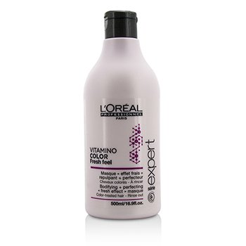L'Oreal Professionnel Expert Serie - Vitamino Color Fresh Feel Bodifying + Perfecting <Fresh Effect> Masque - Rinse Out  500ml/16.9oz
