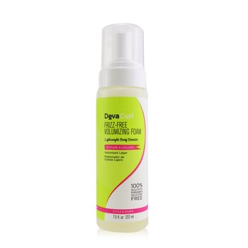 DevaCurl Frizz-Free Volumizing Foam (Lightweight Body Booster - Texture & Volume)  222ml/7.5oz