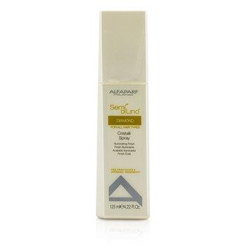 AlfaParf Semi Di Lino Diamond Cristalli Spray - Illuminating Finish (For All Hair Types)  125ml/4.22oz