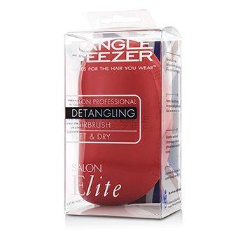 Tangle Teezer Salon Elite Professional Detangling Hair Brush - # Winter Berry (For Wet & Dry Hair)  1pc
