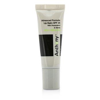 Anthony Logistics For Men Advanced Formula Lip Balm SPF 25 - Mint And White Tea  7g/0.25oz
