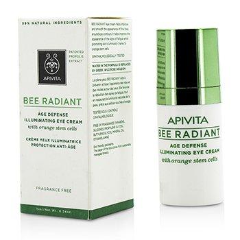Apivita Bee Radiant Age Defense Illuminating Eye Cream  15ml/0.54oz