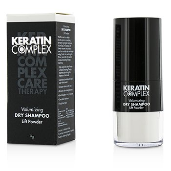 Keratin Complex Care Therapy Volumizing Dry Shampoo Lift Powder - # White  9g/0.3oz