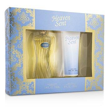 Dana Heaven Sent Coffret: Eau De Parfum Spray 100ml/3.4oz + Body Lotion 120ml/4oz  2pcs