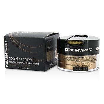Keratin Complex Fashion Therapy Sparkle + Shine Keratin Highlighting Powder - # Bronze  19ml/0.63oz