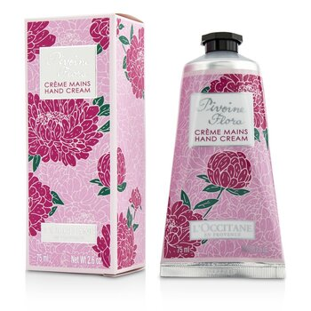 L'Occitane Pivoine Flora Hand Cream (New Packaging)  75ml/2.6oz