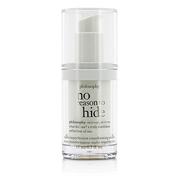 Philosophy No Reason To Hide Multi-imperfection Transforming Serum - Travel Size (Unboxed)  15ml/0.5oz