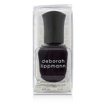 Deborah Lippmann Luxurious Nail Color - Dark Side Of The Moon (Absolutely Aubergine Creme)  15ml/0.5oz