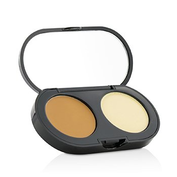 Bobbi Brown New Creamy Concealer Kit - Warm Honey Creamy Concealer + Pale Yellow Sheer Finish Pressed Powder  3.1g/0.11oz