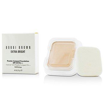 Bobbi Brown Extra Bright Powder Compact Foundation SPF 25 Refill - #0 Porcelain  13g/0.45oz