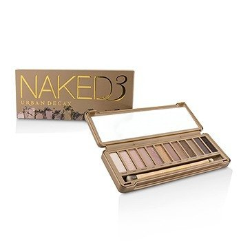 Urban Decay Naked 3 Eyeshadow Palette: 12x Eyeshadow, 1x Doubled Ended Shadow/Blending Brush