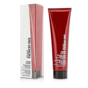 Shu Uemura Color Lustre Brilliant Glaze Thermo-Milk (For Color-Treated Hair)  150ml/5oz