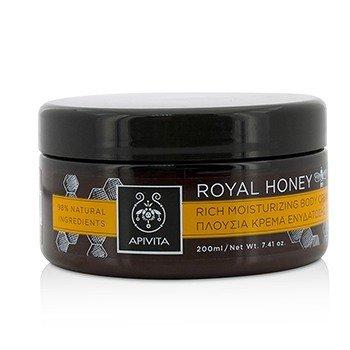 Apivita Royal Honey Rich Moisturizing Body Cream  200ml/7.41oz
