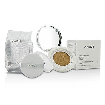 Laneige BB Cushion Foundation SPF 50 With Extra Refill - Light  2x15g/0.5oz