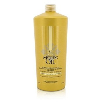 L'Oreal Professionnel Mythic Oil Shampoo with Osmanthus & Ginger Oil (For Normal to Fine Hair)  1000ml/33.8oz