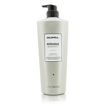 Goldwell Kerasilk Reconstruct Conditioner (For Stressed and Damaged Hair)  1000ml/33.8oz